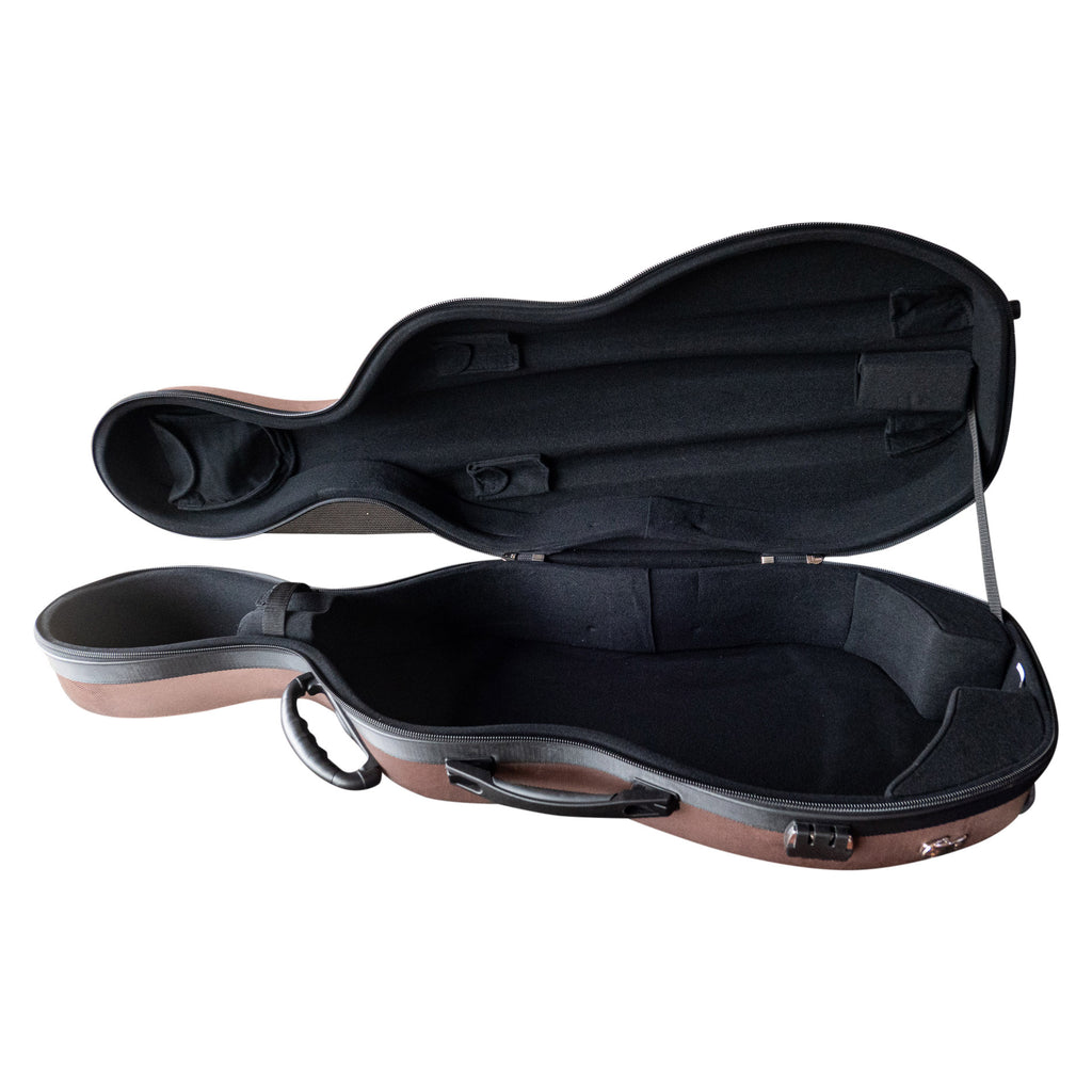 Hybrid Cello Case With Wheels - 1/2