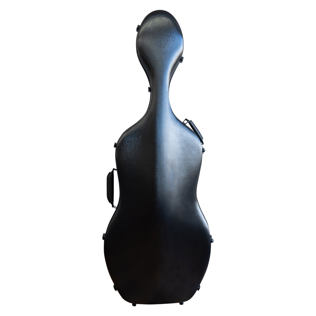 MJ Polycarbonate Cello Case with wheels - 4/4