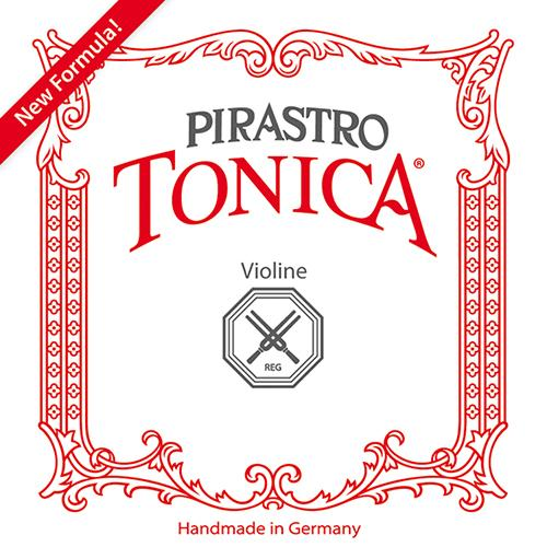 Pirastro Tonica Violin E String 4/4 E-Ball Silvery Steel (Mittel Envelope)