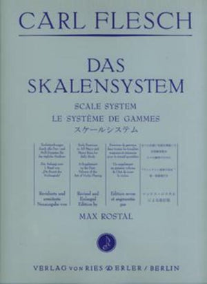 Carl Flesch - The Scale System for Violin