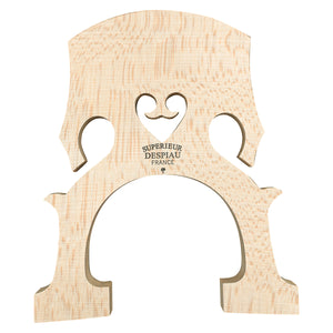 Despiau Cello Bridge #9 C (1 Tree) 76mm Low Heart