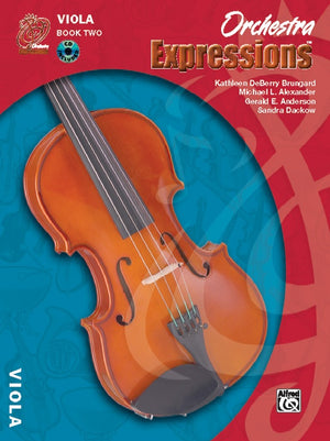 Orchestra Expressions 2 Viola Bk/CD