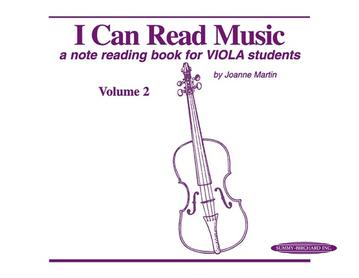 I Can Read Music Volume 2 - Viola