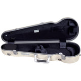 BAM Supreme Ice Hightech Polycarbonate Contoured Violin Case