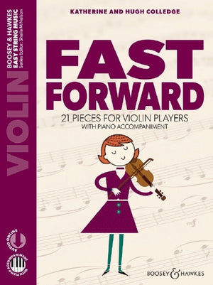 Fast Forward - Violin (New Edition) with Piano Accompaniment