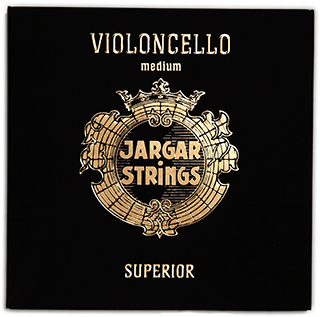 Jargar Superior D String - Medium 4/4