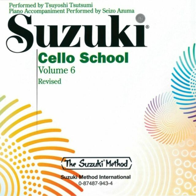 Suzuki Cello School CD, Volume 6