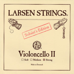 Larsen Soloist Cello D String 4/4