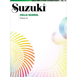 Suzuki Cello School, Volume 10