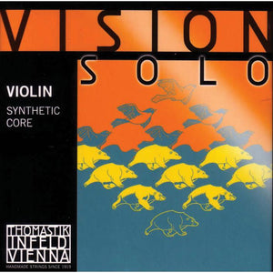 Thomastik Vision Solo Violin String Set 4/4