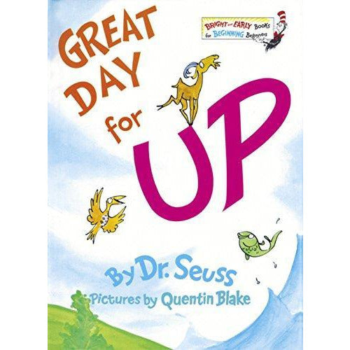 Dr. Seuss: Great Day For Up - 9780394829135 - Penguin Random House - Menucha Classroom Solutions