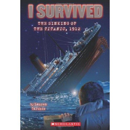 I Survived The Sinking Of The Titanic 1912 - 9780545206945 - Scholastic - Menucha Classroom Solutions