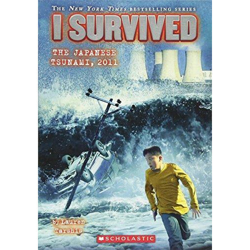 I Survived The Japanese Tsunami 2011 - 9780545459372 - Scholastic - Menucha Classroom Solutions