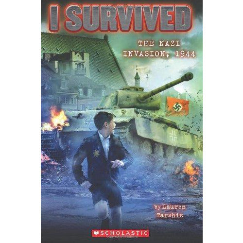 I Survived The Nazi Invasion 1944 - 9780545459389 - Scholastic - Menucha Classroom Solutions