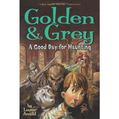 Golden And Grey: #03 A Good Day For Haunting - 9781416908647 - Simon And Schuster - Menucha Classroom Solutions