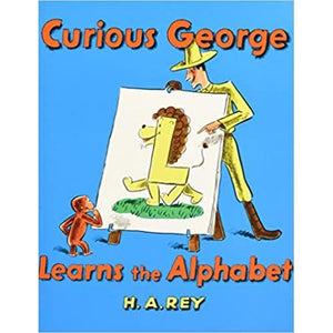 Curious George Learns the Alphabet Book and CD