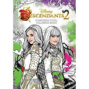 Descendants 2 - A Wickedly Cool Coloring Book