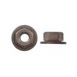 1639 - 5-0.8mm Metric Nut with #10 Hex Head - 50 Pieces