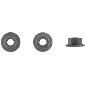 5800 - 6-1.0mm Hex Flange Nut - 100 Pieces