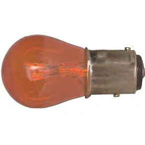 71157A - Miniature Bulb - Industrial # 1157A - Amber - 10 Pieces