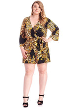 Load image into Gallery viewer, Leopard Print  Loose Fit Romper - Shopninaruchi