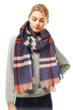 Load image into Gallery viewer, Stylish Plaid Modern Check Scarf