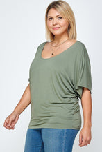 Load image into Gallery viewer, Solid Knit Top, With A Flowy Silhouette - Shopninaruchi