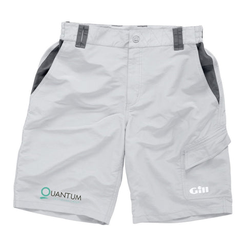 QUANTUM PERFORMANCE SAILING SHORTS - GRAPHITE OR SILVER GREY