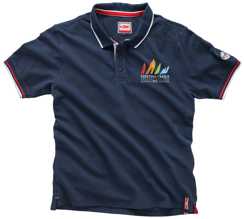 FOS 2018 Men's Elements Polo - Navy