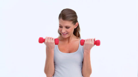reps and sets bicep curl