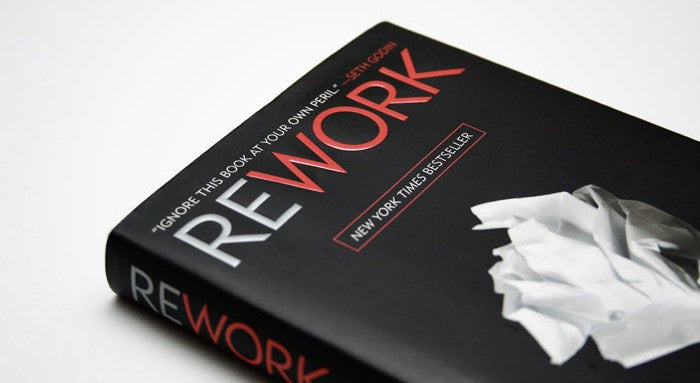 Rework by Jason Fried, David Heinemeier Hansson