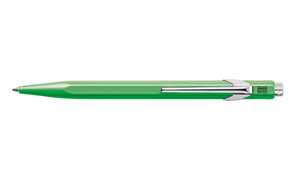 849 Fluorescent Green Ballpoint Pen ( without Box )