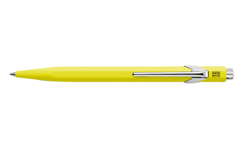 849 Fluorescent Yellow Ballpoint Pen ( without Box )