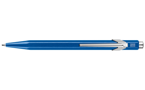 849 Metallic Blue Ballpoint Pen ( without Box )
