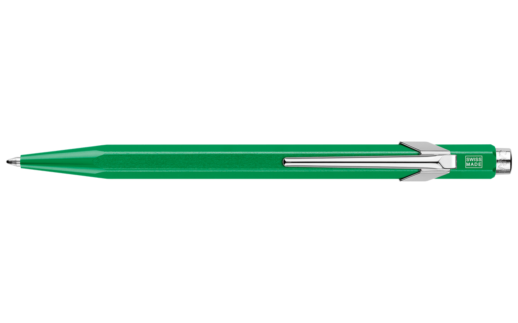 849 Metallic Green Ballpoint Pen ( without Box )