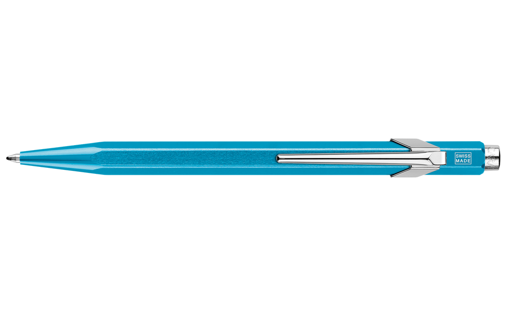 849 Metallic Turquoise Pen ( without Box )