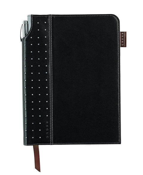 Black Medium Signature Journal with Pen