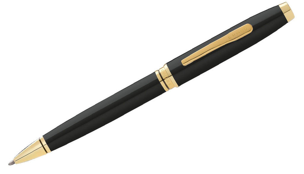 Coventry Black/Gold Ballpoint Pen