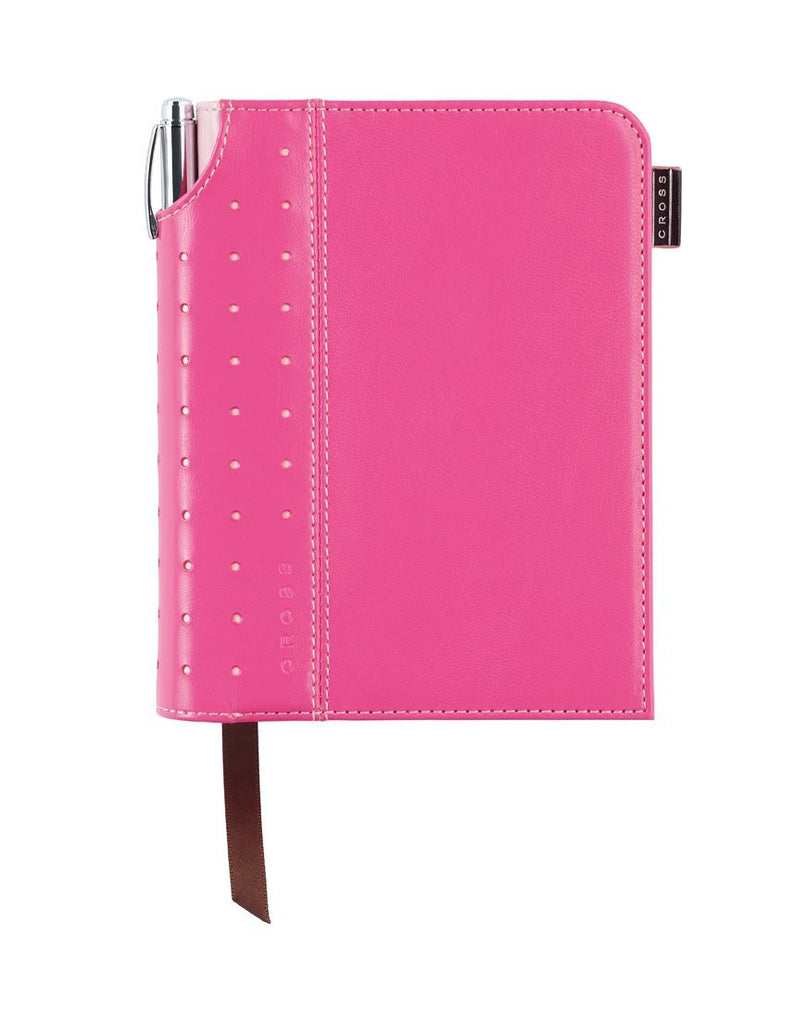 Small Pink Signature Journal with Pen