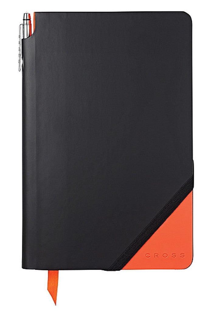 Black & Orange Medium Jotzone with Pen