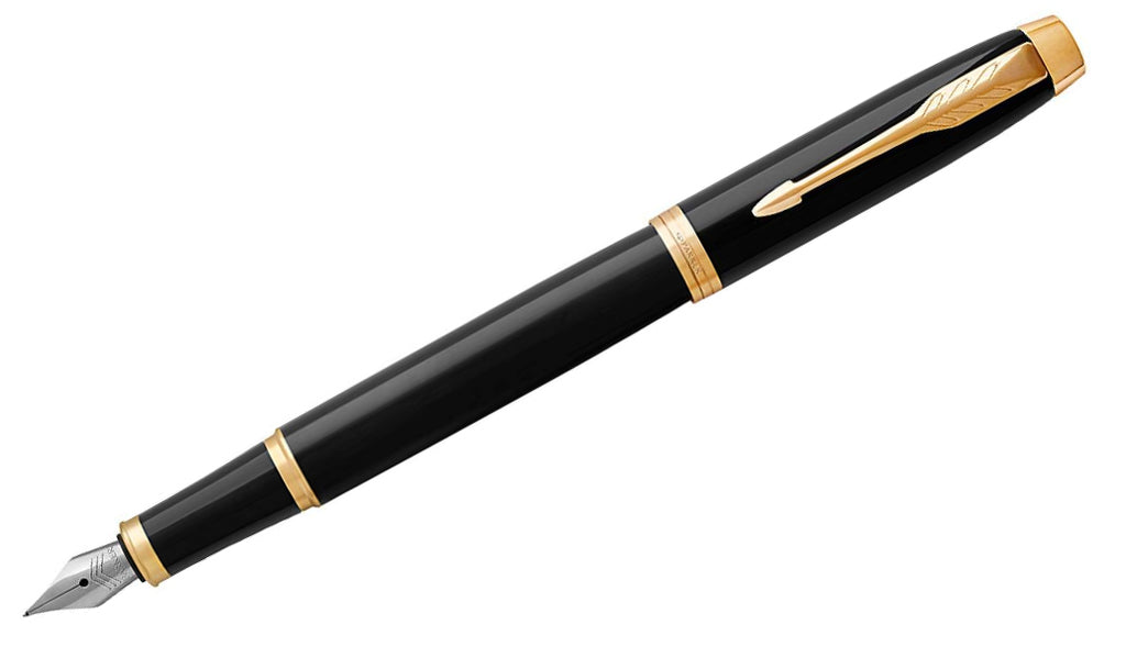 IM - Black With Gold Trim Fountain Pen