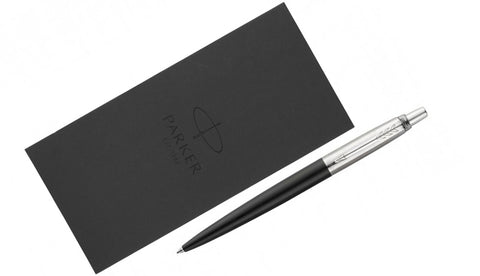 Jotter - Bond Street Black Ballpoint Pen + Notebook Set