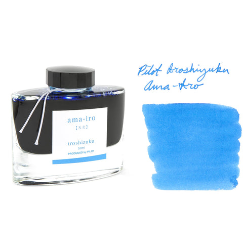Iroshizuku Ama-iro (Iroshizuku Sky Blue) 50ml Bottled Ink