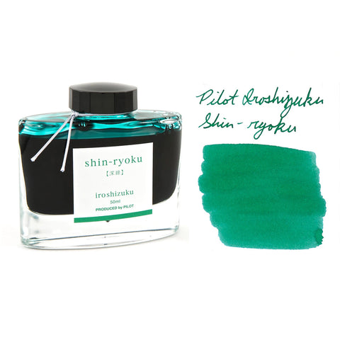 Iroshizuku Shin-Ryoku (Forest Green) 50ml Bottled Ink