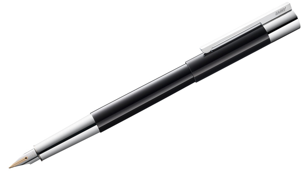 Scala Piano Black Lacquer Fountain Pen