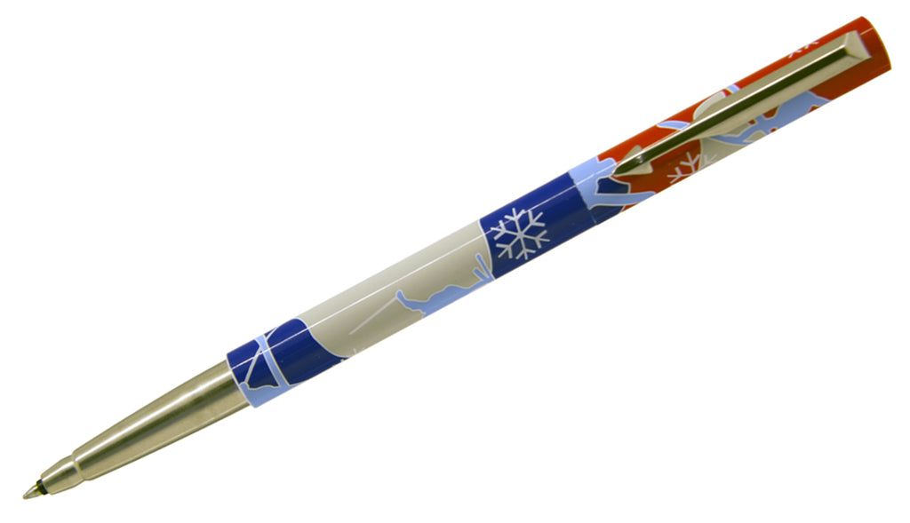 Vector - Ski Design Rollerball Pen