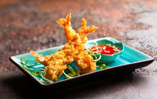 Load image into Gallery viewer, Tempura battered King Prawns