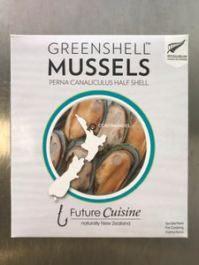 New Zealand half shell mussels