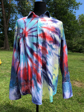 Load image into Gallery viewer, Button Down Tie Dye 18 1/2 Xl
