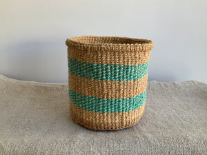 Striped Woven Baskets